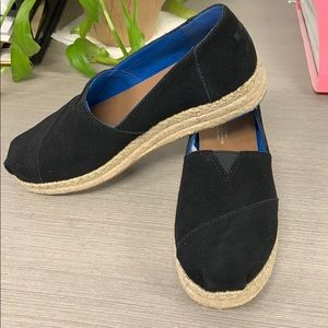 Toms Leather Espadrilles -FINAL PRICE REDUCTION